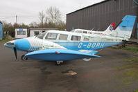 G-BORH @ EGTR - 1980 Piper PA-34-200T, c/n: 34-8070352 at Elstree