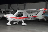 G-FICS @ EGTR - 2007 Flight Design CTSW, c/n: 8348 at Elstree