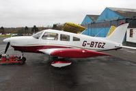 G-BTGZ @ EGTR - 1977 Piper PA-28-181 Cherokee Archer II, c/n: 28-7890160 at Elstree