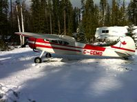 C-GEMO @ CBF9 - Outside the hangar at Mabel Lake, BC - by Dave Fisher
