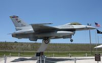 80-0528 - F-16 on a post in Pinellas Park FL