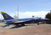 141868 - Grumman F-11A (F11F-1) Tiger at the Planes of Fame Air Museum, Valle AZ - by Ingo Warnecke