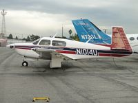 N1014U @ CCB - Parked in Foothill Sales & Service area - by Helicopterfriend