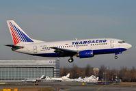 VP-BYJ @ LOWW - Transaero Boeing 737-500