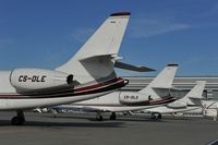 CS-DLE @ LOWW - Netjets Falcon 2000