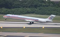 N7546A @ TPA - American MD-82 - I got a pic of this plane a week earlier at MCO