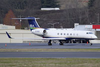 B-8125 @ KBFI - Seen during a layover at BFI was this Chinese Gulfstream. - by Joe G. Walker