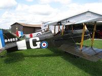 CF-QGM @ CNC3 - 7/8 scale Nieuport 11 visiting The Great War Flying Museum - by PeterPasieka