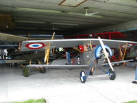 N118PS @ CNC3 - 7/8 scale Nieuport 11 visiting The Great War Flying Museum - by PeterPasieka