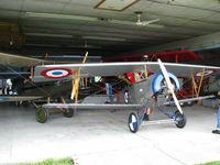 N118PS @ CNC3 - 7/8 scale Nieuport 11 visiting The Great War Flying Museum - by PeterPasieka