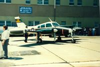60-6054 @ OQU - UA Army 1960 Cessna L-27B Administrator S/N 60-6045 at Quonset State Airport, North Kingstown, RI - circa 1980's - by scotch-canadian