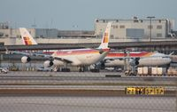 EC-IDF @ MIA - I seem to always miss the Iberia A343 in air - this time because I was driving to 94th Aero to get the LH A380 as this guy lands next to me. The last two times I was in the wrong place at the wrong time too.