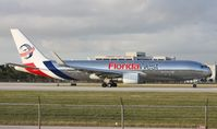 N316LA @ MIA - Florida West 767-300 departure on Runway 9