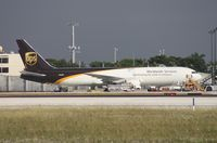 N326UP @ MIA - UPS 767-300 on ramp across from the photo holes on 25th St.