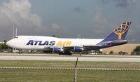 N429MC @ MIA - Atlas 747-400