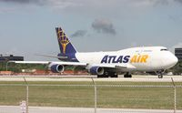 N429MC @ MIA - After waiting for an ATR to land, the Atlas 747 was cleared to depart Runway 9