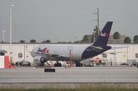 N443FE @ MIA - Fed Ex A310