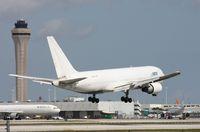 N763CX @ MIA - ATI 767 landing Runway 9