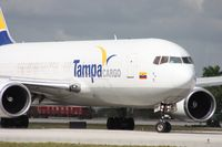 N770QT @ MIA - Tampa Colombia cleared for departure on 9