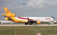 N952AR @ MIA - Sky Lease MD-11 departing on 9