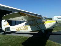 N84306 @ KPPO - In front of the old hangar in La Porte, IN. - by Rich Dugger