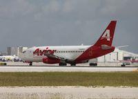 YV495T @ MIA - Avior Venezuela 737-200 landed on Runway 30