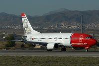 LN-KKO @ LEMG - Norwegian Boeing 737-300