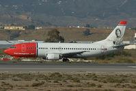 LN-KKL @ LEMG - Norwegian Boeing 737-300