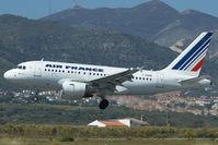 F-GUGD @ LEMG - Air France Airbus 318