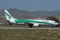 PH-HZY @ LEMG - Transavia Boeing 737-800
