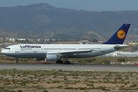 D-AIAT @ LEMG - Lufthansa Airbus 300-600 - by Dietmar Schreiber - VAP