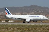 F-GJVW @ LEMG - Air France Airbus 320