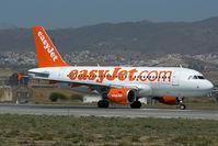 G-EZEK @ LEMG - Easyjet Airbus 319