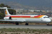 EC-FOZ @ LEMG - Iberia MD80