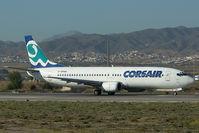 F-GFUG @ LEMG - Corsair Boeing 737-400