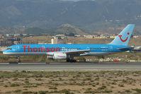 G-BYAS @ LEMG - Thomson Boeing 757-200