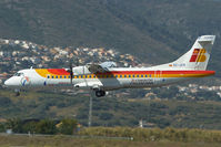 EC-JCR @ LEMG - Air Nostrum ATR72