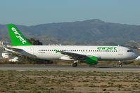 EI-DIJ @ LEMG - Airjet Airbus 320