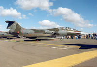 MM54261 @ EGVA - TF-104G Starfighter, callsign India 4260, of 4 Stormo Italian Air Force on display at the 1995 Intnl Air Tattoo at RAF Fairford. - by Peter Nicholson