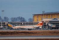 DDR-SCF @ EDDP - Oddment of an airline that went down more than 20 years ago. - by Holger Zengler