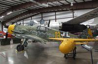 611943 - Messerschmitt Bf 109G-10 at the Planes of Fame Air Museum, Valle AZ - by Ingo Warnecke