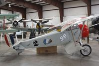 N124PW @ 40G - Walker Nieuport 17 replica at the Planes of Fame Air Museum, Valle AZ