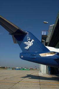 OM-AAC @ LZIB - Slovak Airlines Fokker 100