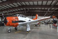 N393W @ 40G - North American T-28B Trojan at the Planes of Fame Air Museum, Valle AZ - by Ingo Warnecke