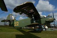 22 @ EVRA - Antonov 2 - by Dietmar Schreiber - VAP