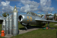 58 @ EVRA - Russian Air Force Mig15