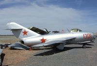 1301 - Mikoyan i Gurevich MiG-15 FAGOT at the Planes of Fame Air Museum, Valle AZ - by Ingo Warnecke