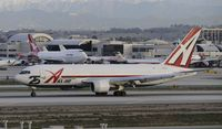 N792AX @ KLAX - Landing on 25L at LAX - by Todd Royer