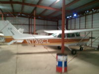 N738CZ @ KEST - in the hangar - by Floyd Taber