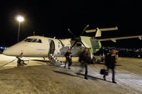 LN-WIU @ ENTC - Finally arrived in Tromsø after the KKN-VAW-VDS-BJF-MEH-HVG-HFT-TOS milk run - by Micha Lueck
